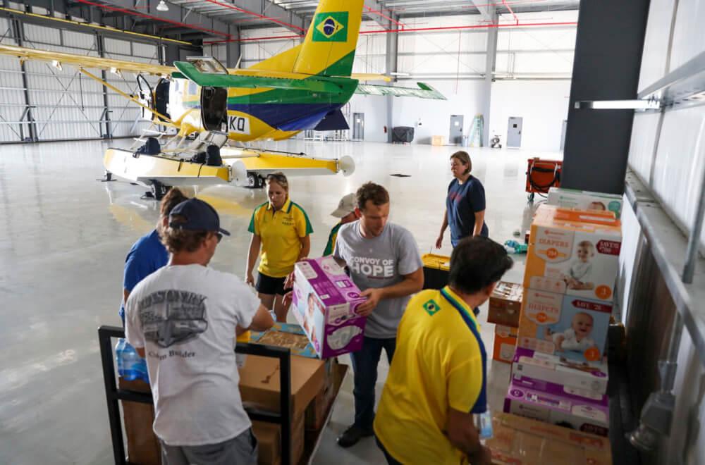 Hurricane Dorian Relief - Cessna Sea Plane - Humanitarian Aid - Bahamas Hurricane Aid