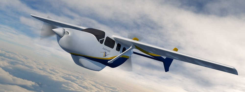 Ampaire Electric Aircraft - Norfolk Aviation - Electric Aircraft - Aircraft Innovation - Commercial Maui Aviation