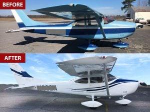 Paint Scheme for Aircraft - Exterior Aircraft Paint - Local Aircraft Painter