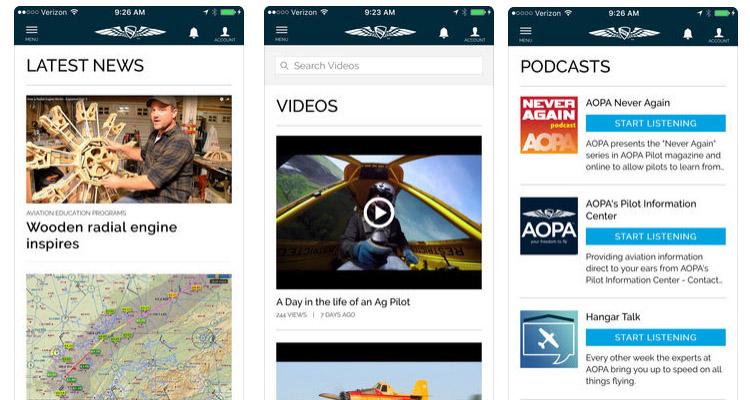 AOPA Pilot Passport App - Pilot License - Aircraft License - Latest Aircraft News