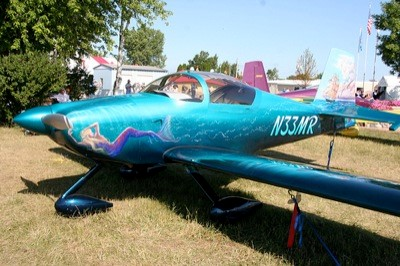 Custom Aircraft Painting - Norfolk Aviation - Piston Aircraft - John Stahr - Aircraft Painting