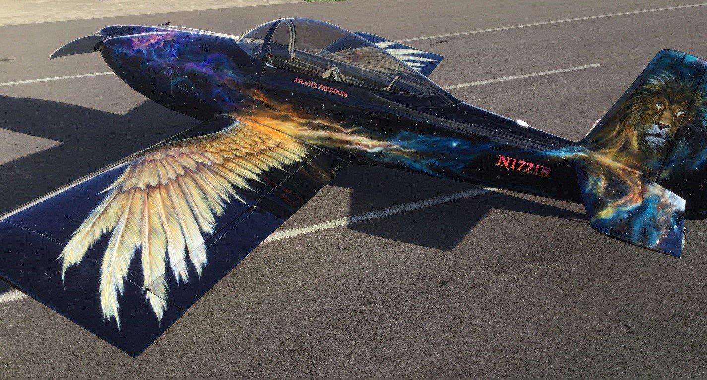 Norfolk Aviation - Piston Aircraft - John Stahr - Aircraft Painting